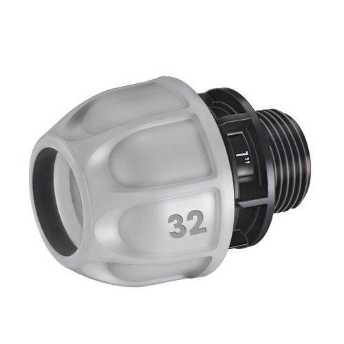 """Raccordo impianti irrigazione Claber Rainjet per tubo d. 1"""" 90271"""