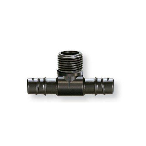 """Raccordo derivatore impianto irrigazione Claber Rainjet per tubi 1/2"""" 91072"""