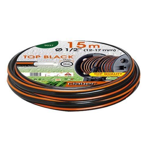 """Tubo irrigazione Claber Top Black 15 mt 1/2"""" 9037"""