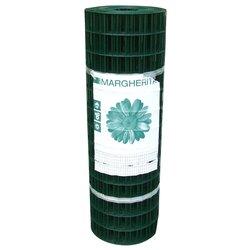 Rete recinzione Cavatorta filo acciaio zincato e plastificato Margherita verde alpi 25 x 1  m SE19100025B