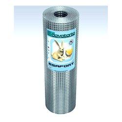 Rete recinzione Cavatorta filo acciaio zincato elettrosaldato Esafort zinco 2500 x 50  cm SF01050025B