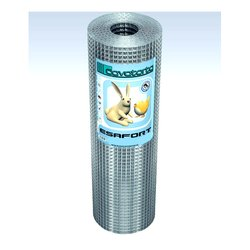 Rete recinzione Cavatorta filo acciaio zincato elettrosaldato Esafort zinco 2500 x 80  cm SF01080025B